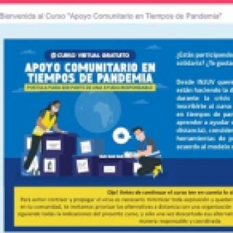 tehuelche noticias: Jóvenes participan en curso virtual de INJUV enfocado al apoyo comunitario responsable en tiempos de pandemia