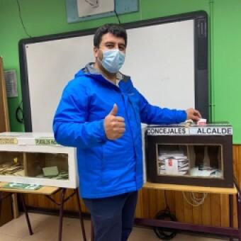 """tehuelche noticias: Alcalde Roncagliolo y reelección """"es un desafío en obras y también en lo social"""""""