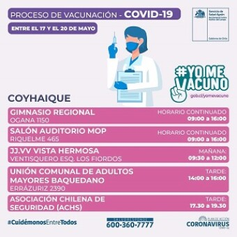 Conoce los puntos de vacunación contra la influenza y el COVID-19